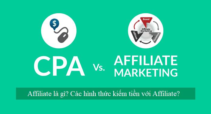 Affiliate marketing là gì? cách kiếm tiền với Affiliate?