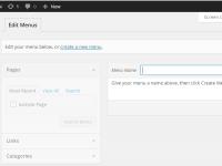 Làm việc với Menu trong WordPress