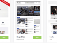 Một số theme wordpress đẹp cho blog, website