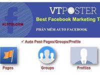 Phần mềm Facebook Marketing – Auto Facebook miễn phí 2020