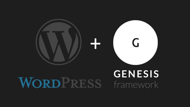 Chia sẻ trọn bộ Genesis và Child theme của StudioPress