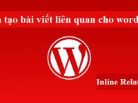 Plugin tạo bài viết liên quan cho wordpress, Inline Related Posts