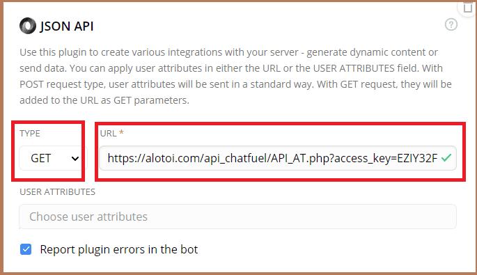tích hợp API AccessTrade cho Chatbot