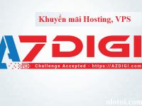 Khuyến mãi AZDIGI – Coupon giảm giá đến 30% tháng 06/2020